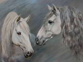 Aufttragsmalerei, Pferde